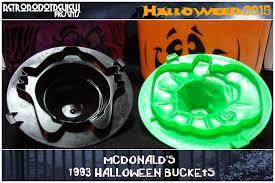 Mcdonalds Halloween Buckets by Mcdonald U0027s 1993 Halloween Buckets