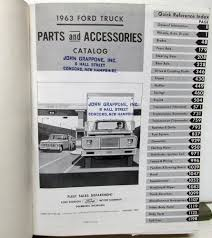 1963 63 Ford Truck Parts Catalog Manual F 100 250 350 Pickup Diesel ... 1979 Ford F 150 Truck Wiring Explore Schematic Diagram Tractorpartscatalog Dennis Carpenter Restoration Parts 2600 Elegant Oem Steering Wheel Discounted All Manuals At Books4carscom Distributor Wire Data 1964 Ford F100 V8 Pick Up Truck Classic American 197379 Master And Accessory Catalog 1500 Raptor Is Live Page 33 F150 Forum Directory Index Trucks1962 Online 1963 63 Manual 100 250 350 Pickup Diesel Obsolete Ford Lmc Ozdereinfo