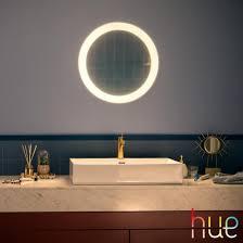 philips hue adore spiegel mit led beleuchtung und dimmer