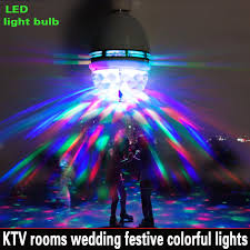 interface the new generation of 3w rgb led e27 light bulb colorful