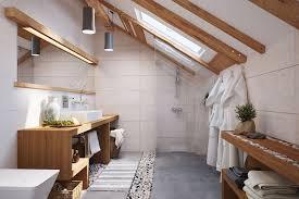 salle de bain galet et bois photos de conception de maison