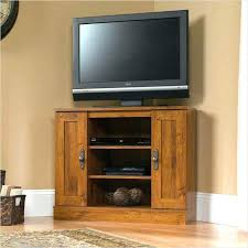 Diy Corner Tv Stand White Tall Media Console Projects Inside Cabinet Plan