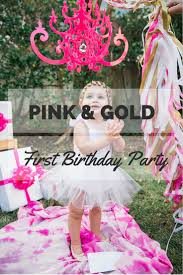 Pink And Gold Birthday Themes by Pink U0026 Gold Birthday Party Photoshoot The Cuteness