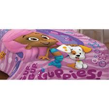 nickelodeon bubble guppies fun twin single bed comforter