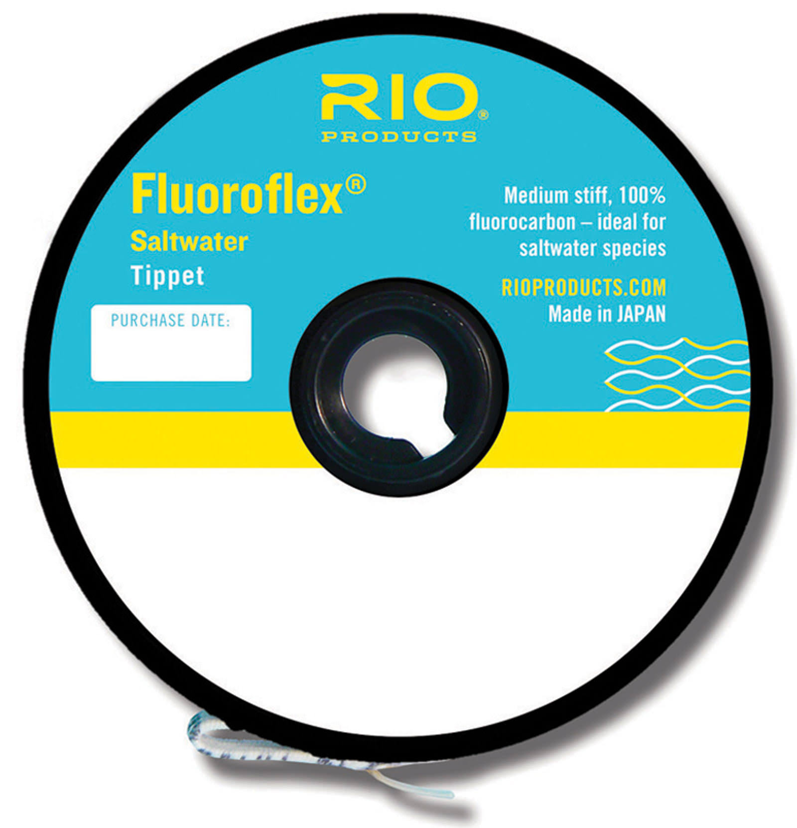 Rio Fly Fishing Tippet Saltwater Tippet Fishing Tackle - Clear, 30yd, 20lbs