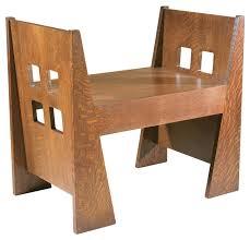 Stickley Furniture Limbert Window Bench Craftsman Style