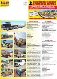 100 Heavy Duty Truck Auction Sullivan EersUpcoming Events Large Construction Equipment