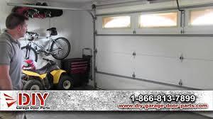 Garage Door Bottom Seal For Uneven Floor by Learn How To Level A Garage Door Youtube