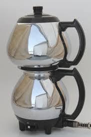 Vintage Sunbeam Coffeemaster Vacuum Percolator Coffee Pot Deco Chrome Maker
