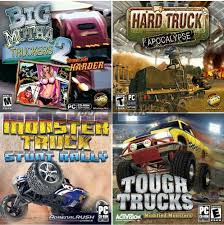 100 Racing Truck Games Driving Action Madness PC Windows XP Vista 7 8 10
