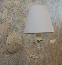 shabby chic 2 light leaf wall light vintage shabby diy