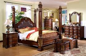 Bedroom Elegant And Traditional Style Canopy Bedroom Sets