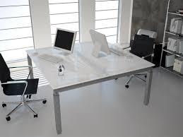 bureau 2 personnes bureau bench en verre 2 personnes epsilon