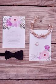 Watercolor Wedding Invitations By Davids Bridal To Match Perfectly Your Colors