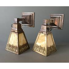sold antique wall lights