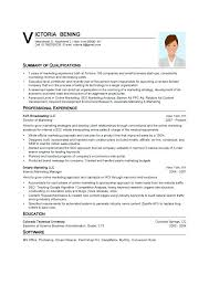 Resume Structure Format Word Template Digital Art Gallery Sample Pdf Philippines