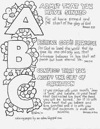 Coloring Pages For Kids By Mr Adron ABCs Of The Gospel Page Free