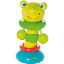 Clutching Toy Clatter Frog HABA USA
