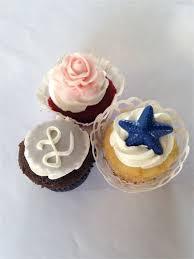 3 Flavor Wedding Cupcakes