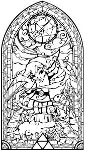 Legend Of Zelda Wind Waker Coloring Pages Heroes Online Pictures Page