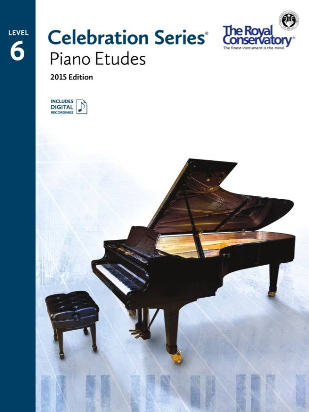 Celebration Series: Piano Etudes Level 6 Book - Royal Conservatory
