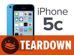 iPhone 5c Teardown iFixit