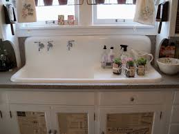 Double Farmhouse Sink Ikea by Decor Silver Farm Sinks For Sale With Shelf And White Wall For