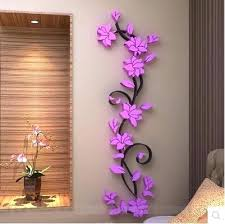 Flower Wall Decorations Paper Flowers Art Source A Decor Metal