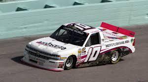 100 Jayski Trucks 2018 NASCAR Camping World Truck Series Paint Schemes Team 10
