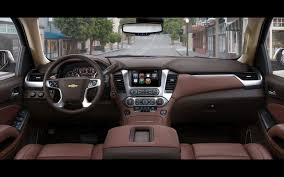 2015 Chevrolet Tahoe and Suburban Chevrolet Tahoe Interior 1