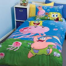 Spongebob Toddler Bedding Set by Bedroom Funny Spongebob Themed Bedroom Decorating Ideas For Kids