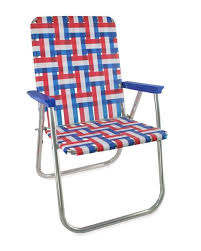 Webbed Lawn Chairs With Wooden Arms by Lawn Chair Usa American Made Chairs And Webbing