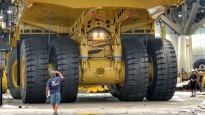 100 Dump Trucks For Rent Moving A Massive Caterpillar 794AC Dump Truck YouTube