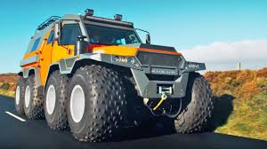 100 Top Gear Toyota Truck Episode The HUGE Avtoros Shaman 8x8 Series 24 BBC YouTube