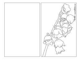 Lily Of The Valley Coloring Page Color Online Print
