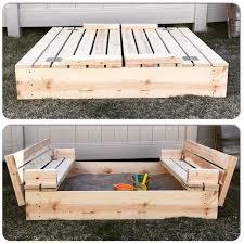 35 DIY Sandboxes Ideas Your Kids Will Love