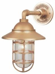 rustic wall sconce lighting adds safety style to back yard