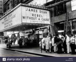 100 James Deans Theater Showing Rebel Without A Cause 1955