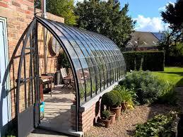 serre de jardin adossée sur mesure dbg classics 1 jardin