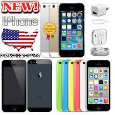 Brand New & Sealed Apple iPhone 5 5C 5S 16 32 8GB Unlocked CDMA