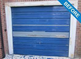 Garage Door Spraying Service Garage Door Painting