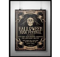 Free Halloween Flyer Templates by 64 Awesome Halloween Invitations And Flyers For Your Spooky