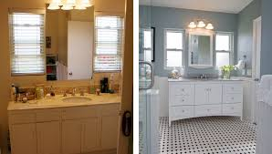 Small Bathroom Remodels Before And After by Bathroom Remodel Before And After Charming On Bathroom For 20