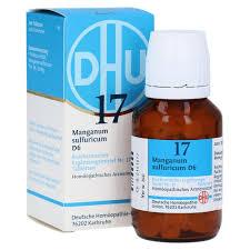 Kã Che Kaufen Sofort Lieferbar Biochemie Dhu 17 Manganum Sulfuricum D 6 Tabletten 200 Stück