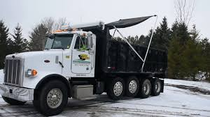 100 Dump Truck Tarp 2005 Peterbilt 357 Quad Axle YouTube