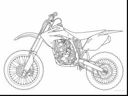 1126x844 Fabulous Honda Motorcycle Coloring Pages With Dirt Bike