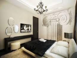 chambre a coucher blanc design chambre à coucher chambre adulte noir blanc design déco intérieur