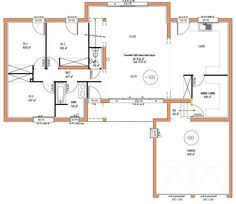 plan maison 4 chambres etage plan maison rdc 3 chambres 4 plain pied l gant r 1 homewreckr co