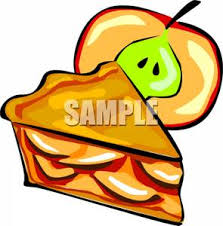 A Slice of Fresh Apple Pie Clipart Picture