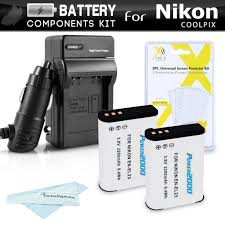 Amazon 2 Pack Battery And Charger Kit For Nikon COOLPIX P900